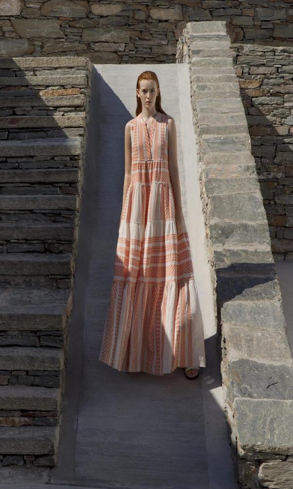 Collection Spring - Summer 2021 DEVOTION SLEEVELESS LONG DRESS 'BAHRAIN'