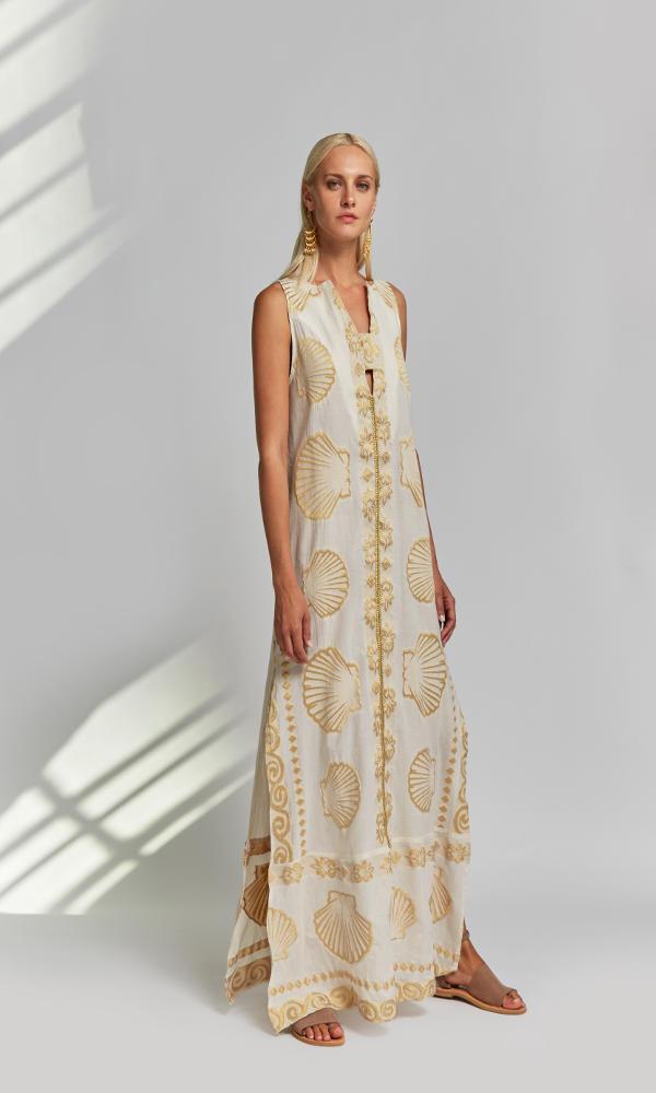 Collection Spring - Summer 2021 NEMA ERI DRESS ECRU