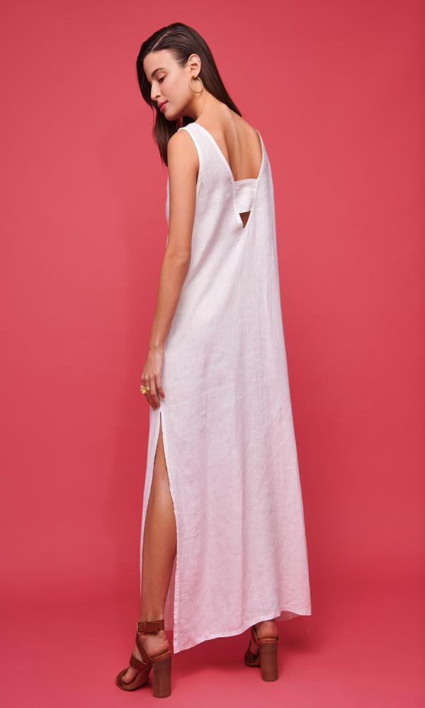 Collection Spring - Summer 2021 NEMA PHOIBE DRESS ECRU