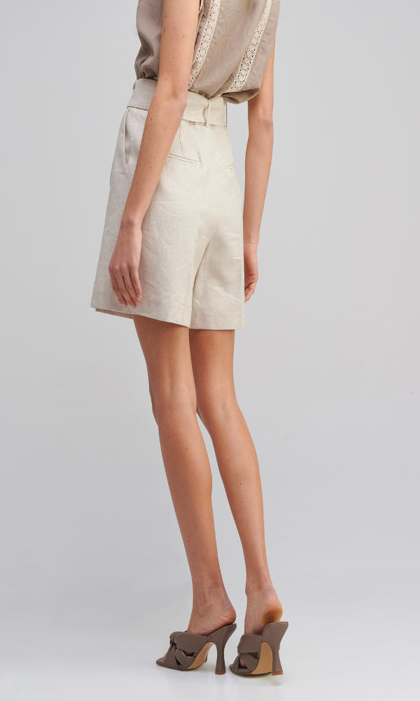 Collection Spring - Summer 2021 MY TIFFANY LINEN SHORTS