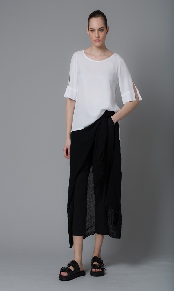 Collection Spring - Summer 2021 LOTUS EATERS BELLATRIX BLOUSE