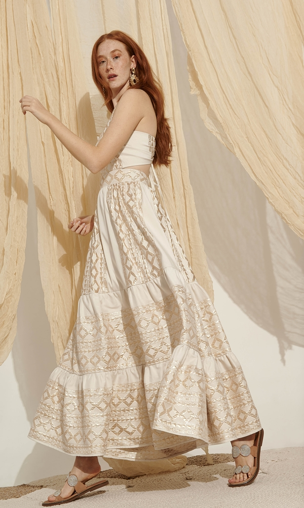 Collection Spring - Summer 2021 LACE BOHO LUXURY DRESS