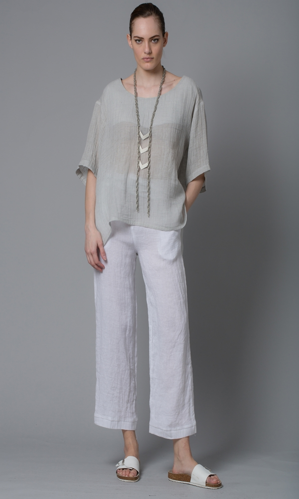 Collection Spring - Summer 2021 LOTUS EATERS VIRTUES BLOUSE