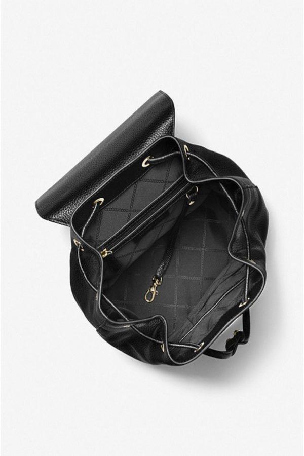 Σακίδια - Backpacks MICHAEL KORS MINA LARGE PEBBLED LEATHER BACKPACK