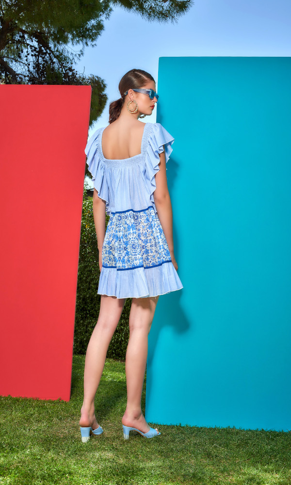 Collection Spring - Summer 2021 CMANOLO MINI DRESS
