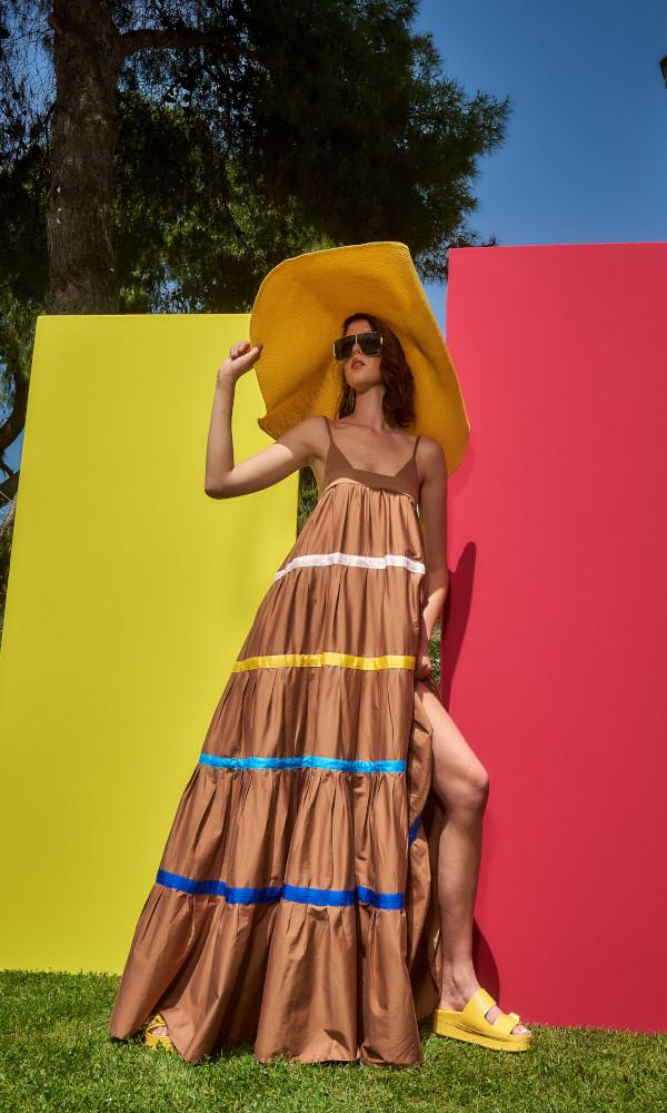 Collection Spring - Summer 2021 CMANOLO MAXI DRESS