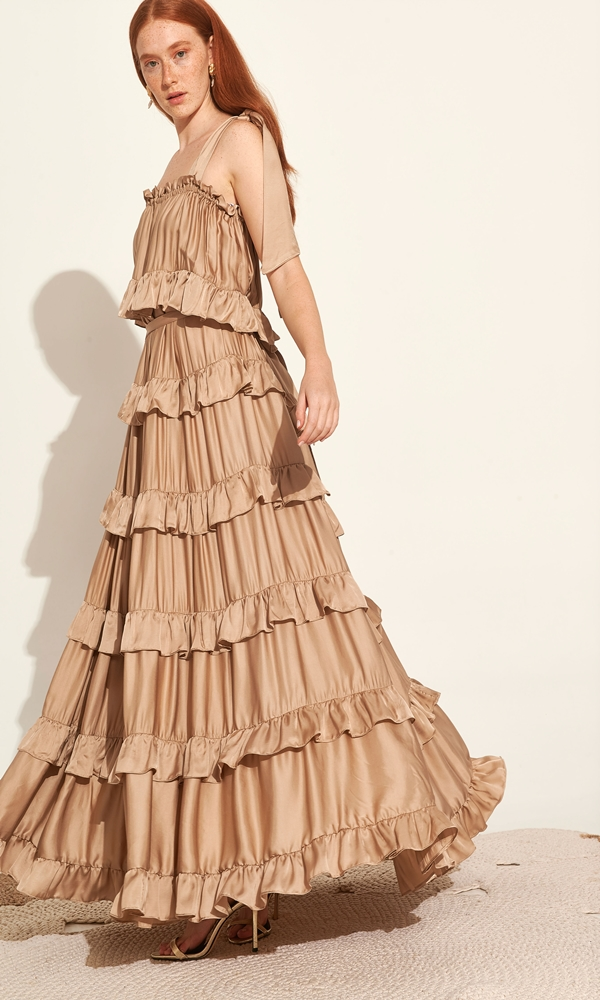 Collection Spring - Summer 2021 LACE MAXI DRESS