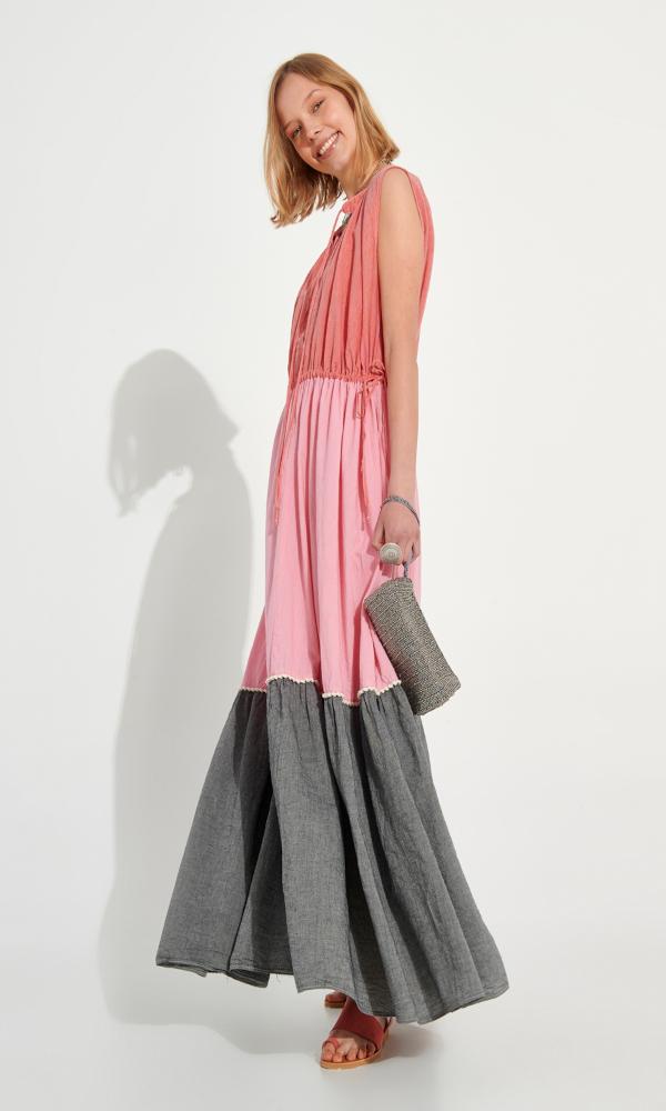 Collection Spring - Summer 2021 AUGUST KAFTAN MAXI DRESS