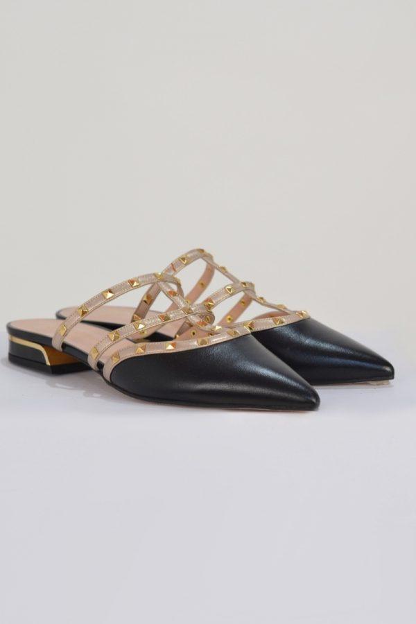 Παπούτσια MOURTZI MULES ΔΕΡΜΑΤΙΝΑ 112811