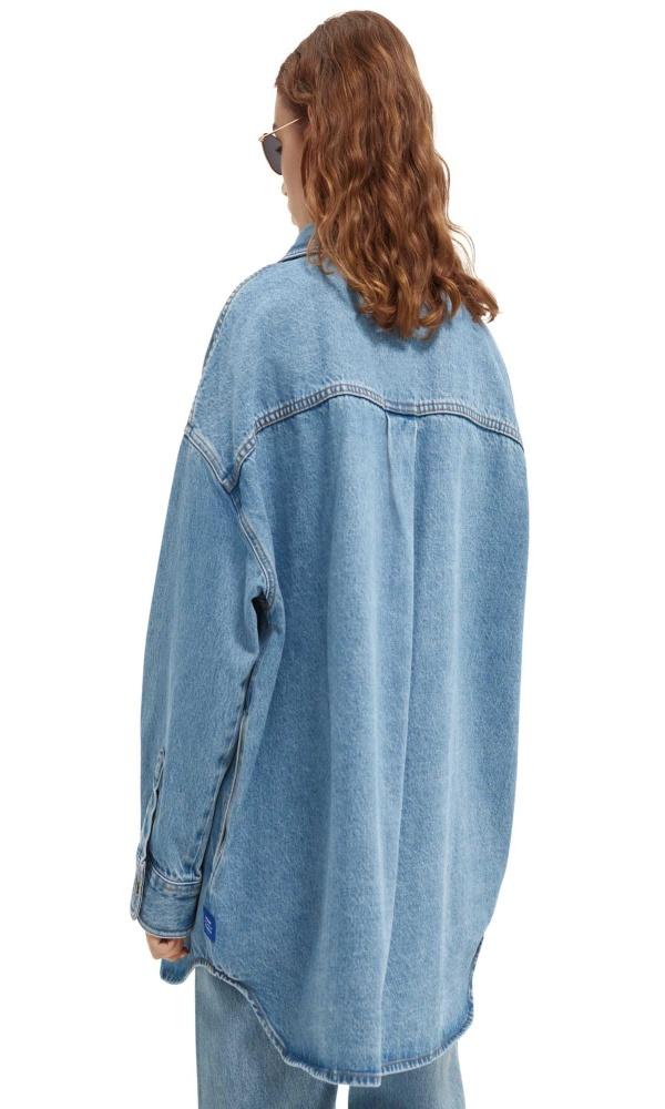 Γυναικεία Ρούχα SCOTCH&SODA JEAN JACKET