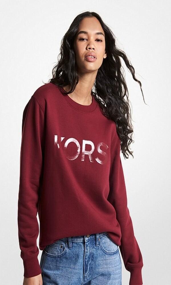 Γυναικεία Ρούχα MICHAEL KORS UNISEX TONAL SWEATSHIRT MS1501I23G