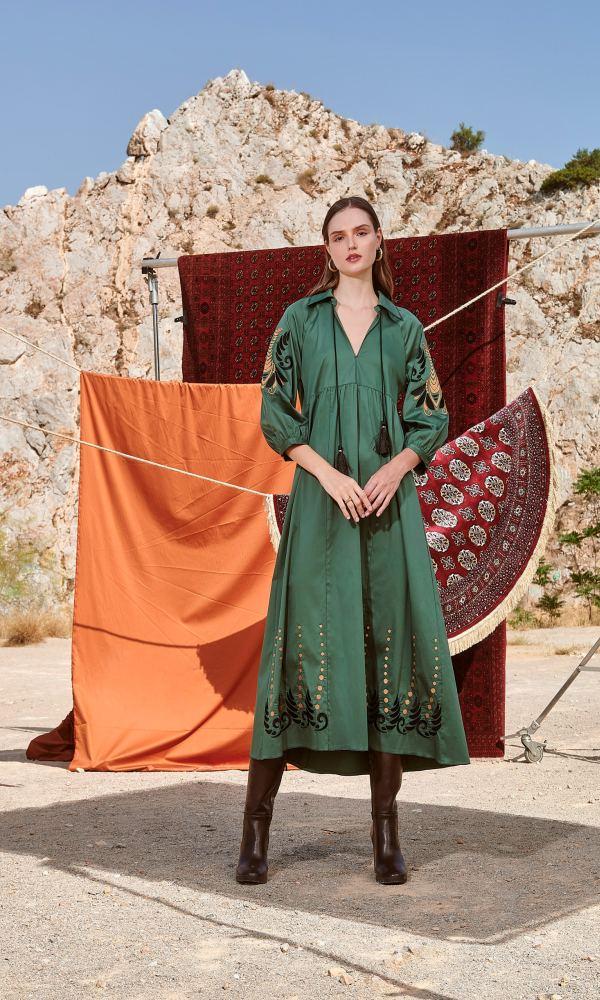 Γυναικεία Ρούχα NEMA IKAT DRESS N412-07400