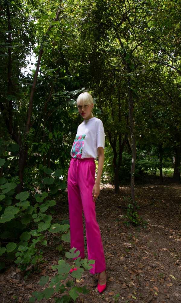 Γυναικεία Ρούχα NEVER ON SUNDAY by NEMA POP UP PANTS