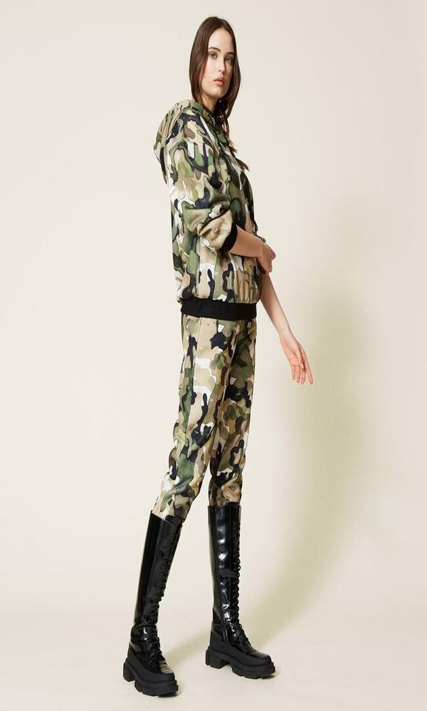 Γυναικεία Ρούχα TWINSET ARMY SET 212LI2WAA