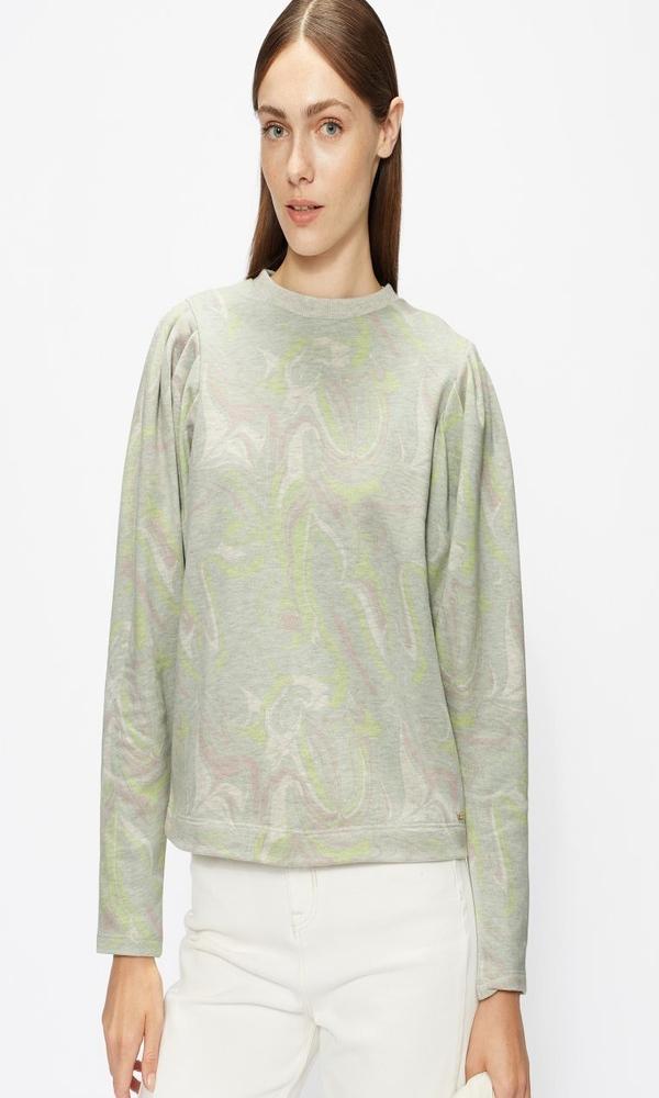 Γυναικεία Ρούχα TED BAKER LLANAA PRINTED SWEATER