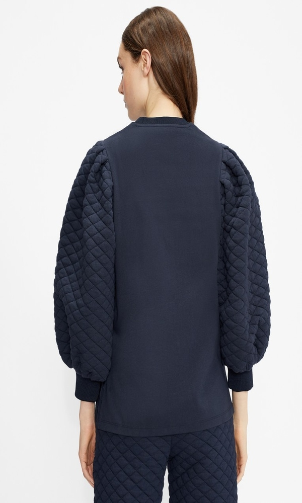 Γυναικεία Ρούχα TED BAKER IZADORI QUILTED SLEEVE SWEATER