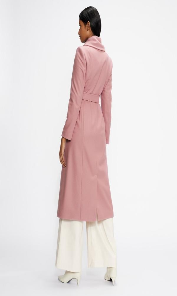 Γυναικεία Ρούχα TED BAKER WOOL COAT WITH OVERSIZED COLLAR