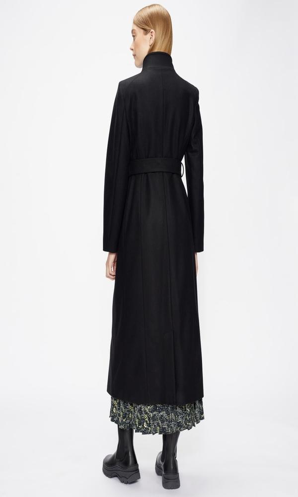 Γυναικεία Ρούχα TED BAKER LONG LENGTH WOOL WRAP COAT