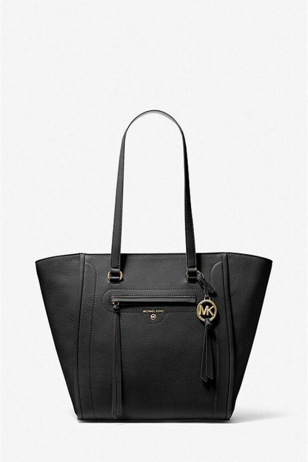 Shopping Bags MICHAEL KORS BLACK LG TOTE CARINE BAG