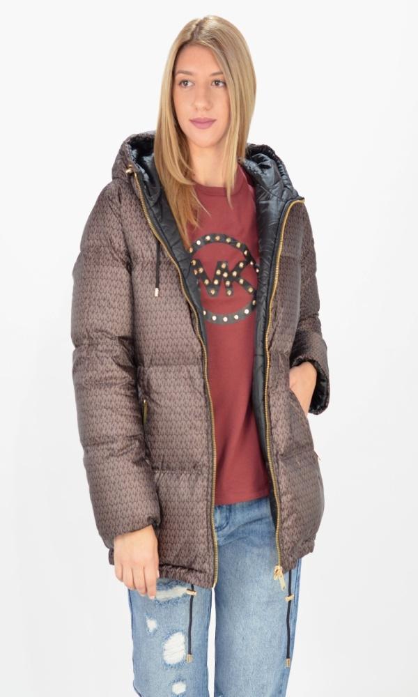 Γυναικεία Ρούχα MICHAEL KORS DOT LOGO PUFFER