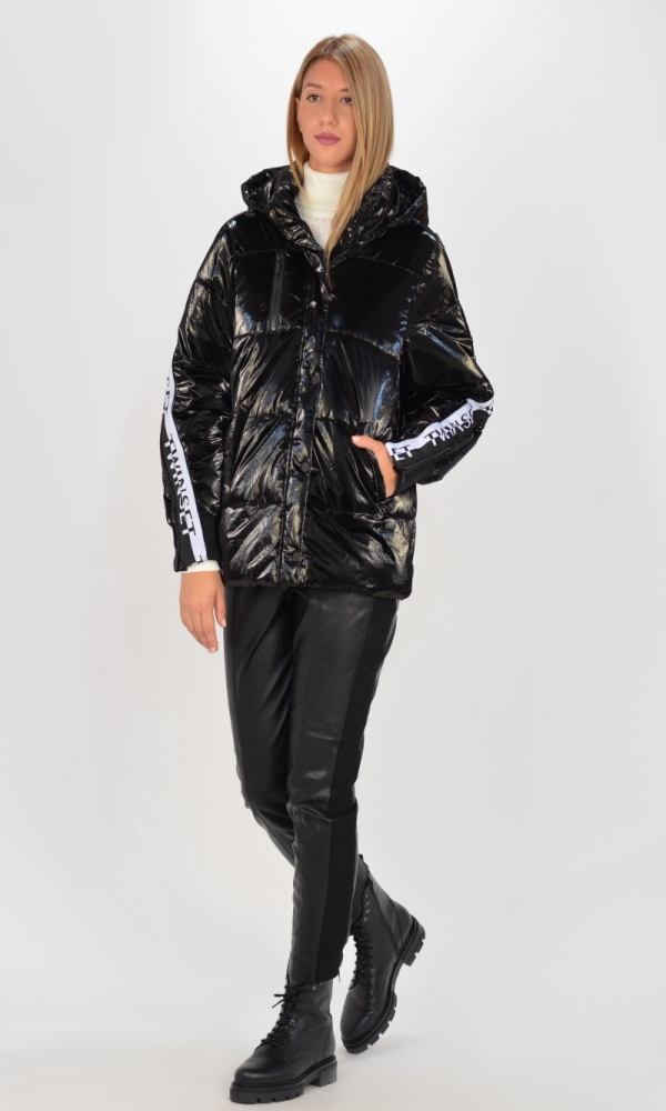 Γυναικεία Ρούχα TWINSET NERO JACKET