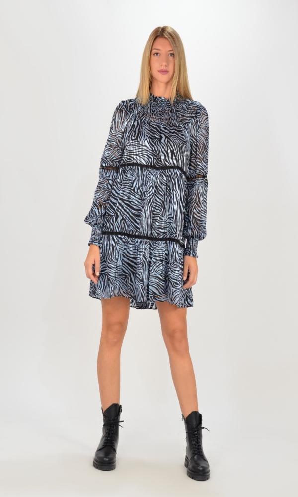 Γυναικεία Ρούχα MICHAEL KORS ZEBRA TENTY MINI DRESS