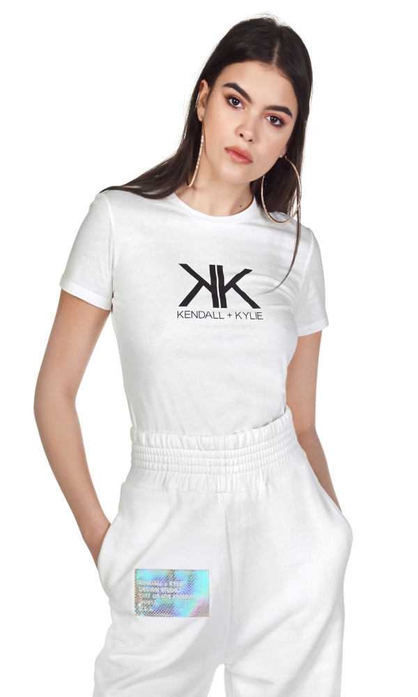 Γυναικεία Ρούχα KENDALL&KYLIE ACTIVE RIBBON LOGO LEGGINGS