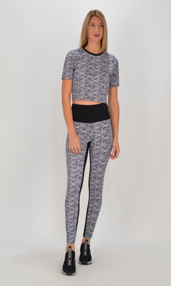 Γυναικεία Ρούχα MICHAEL KORS SPORTY FITTED CROP TOP