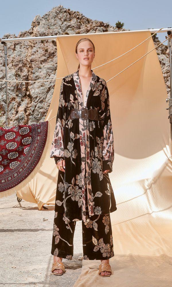 Γυναικεία Ρούχα NEMA BLACK DAHLIA PANTS N201-04400