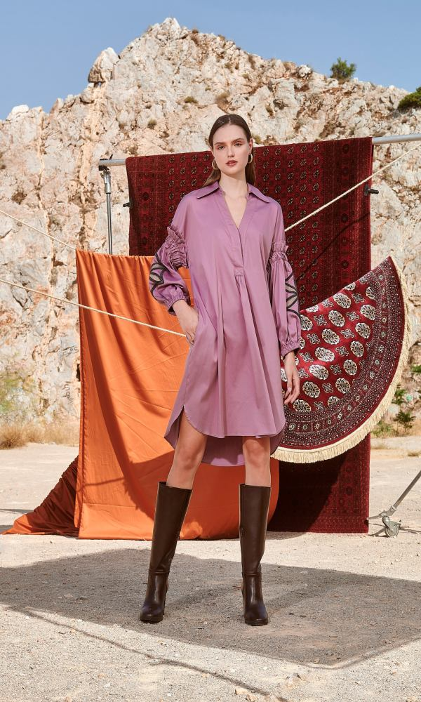Γυναικεία Ρούχα NEMA CUELLO EN V DRESS N420-05900