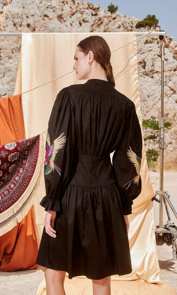 Γυναικεία Ρούχα NEMA PARAKEET DRESS N409-07000