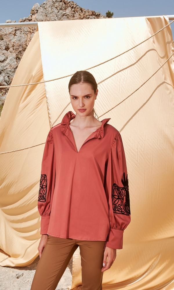 Γυναικεία Ρούχα NEMA SALLY BLOUSE N108-04700