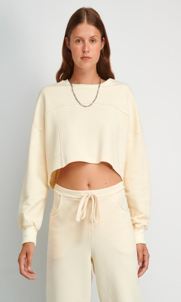 Γυναικεία Ρούχα FOURMINDS CROP SWEATER