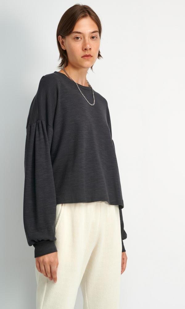 Γυναικεία Ρούχα FOURMINDS LONG SLEEVE CROP BLOUSE