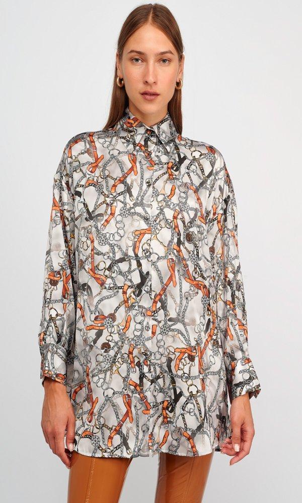 Γυναικεία Ρούχα MY TIFFANY PRINT CHAIN SHIRT