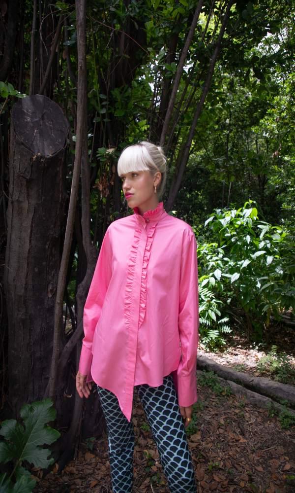 Γυναικεία Ρούχα NEVER ON SUNDAY by NEMA TAFFY SHIRT 0001-03600