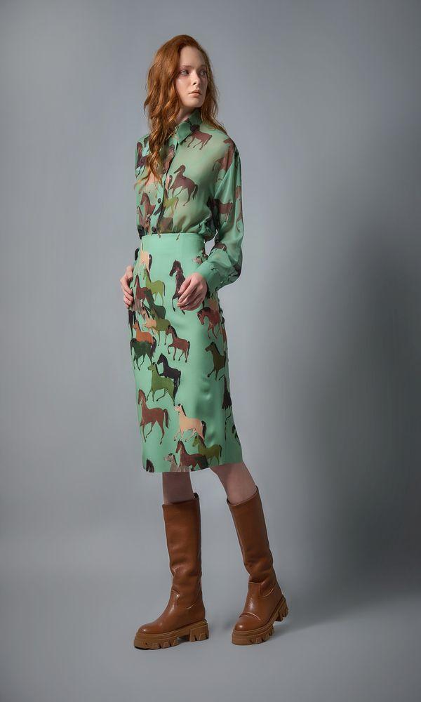 Γυναικεία Ρούχα CMANOLO HORSES SKIRT