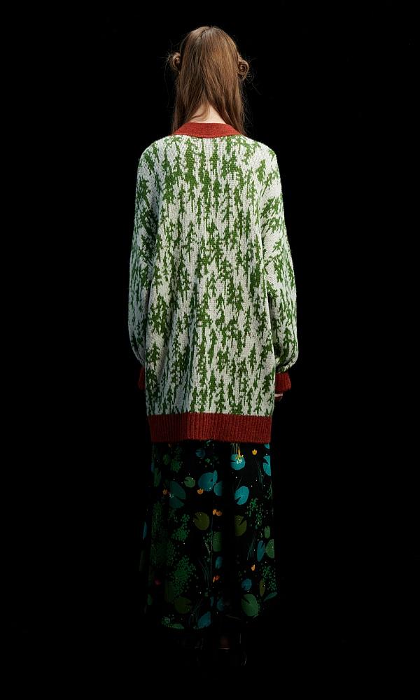 Γυναικεία Ρούχα WE ARE FOREST CREAM CARDIGAN