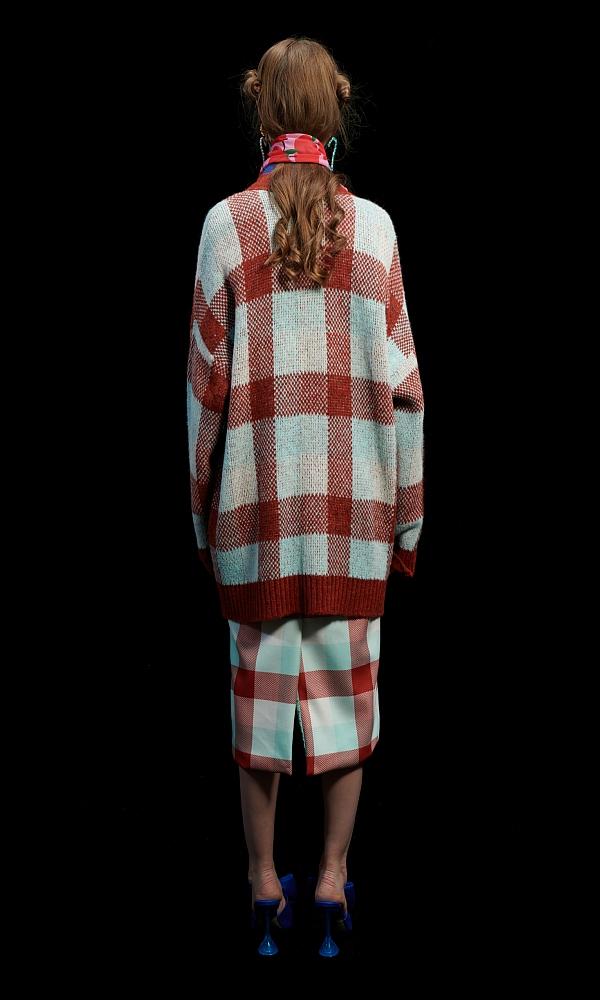 Γυναικεία Ρούχα WE ARE GINGHAM PUMPKINS CARDIGAN