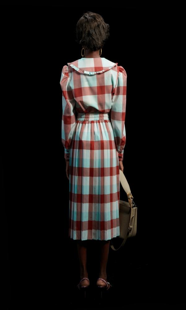 Γυναικεία Ρούχα WE ARE GINGHAM COGNAC SHIRT
