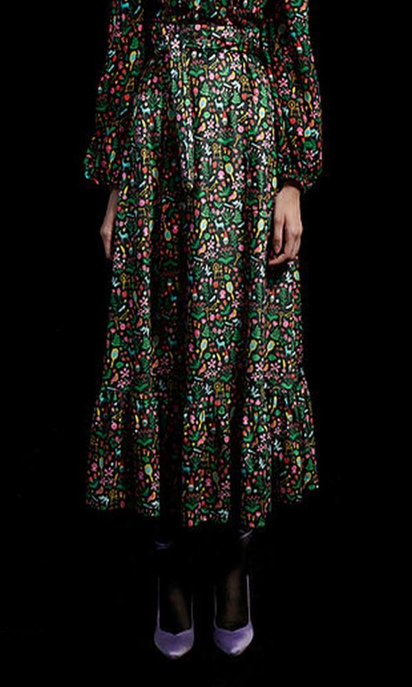 Γυναικεία Ρούχα WE ARE FLOWER SKIRT