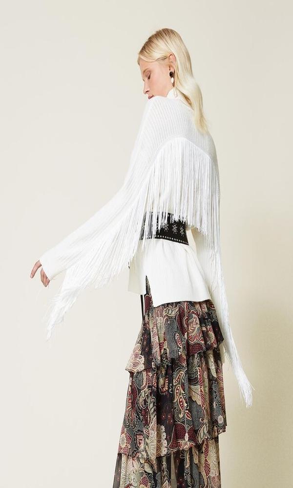 Γυναικεία Ρούχα TWINSET WOOL BLEND TURTLENECT JUMPER
