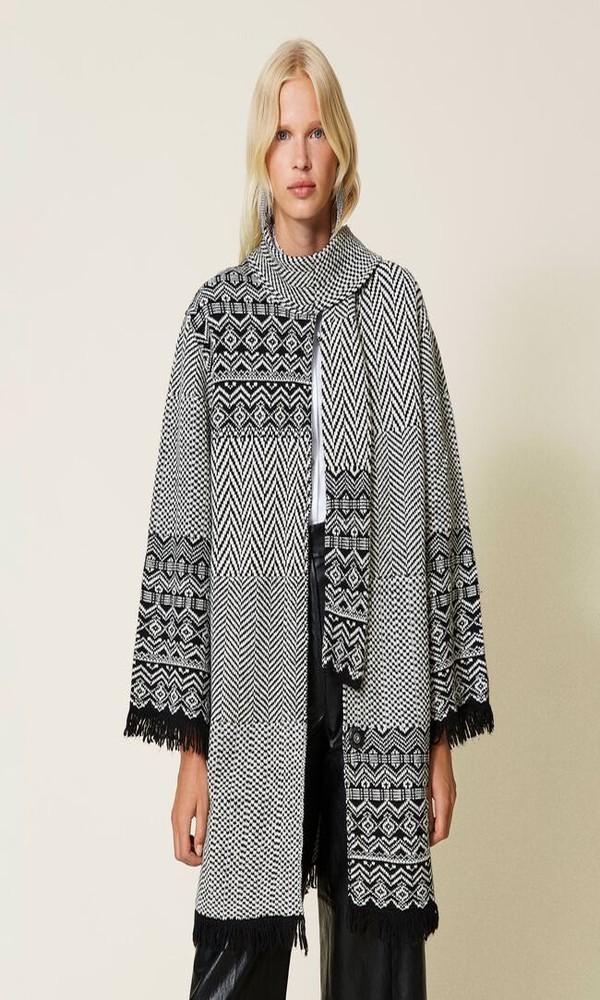 Γυναικεία Ρούχα TWINSET JACQUARD COAT