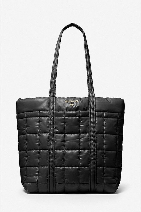 Shopping Bags MICHAEL KORS LARGE QUILTED POLYESTER TOTE BAG
