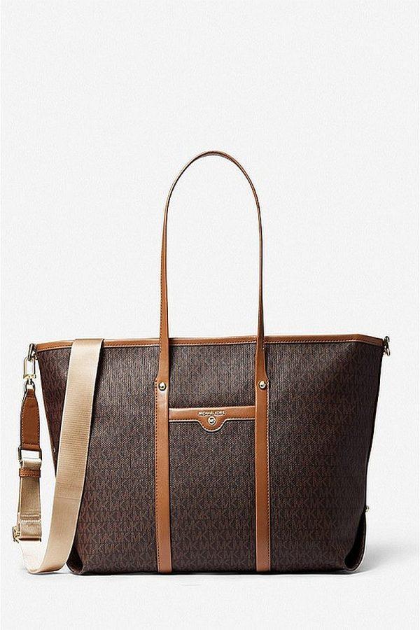 Shopping Bags MICHAEL KORS LARGE LOGO TOTE BAG