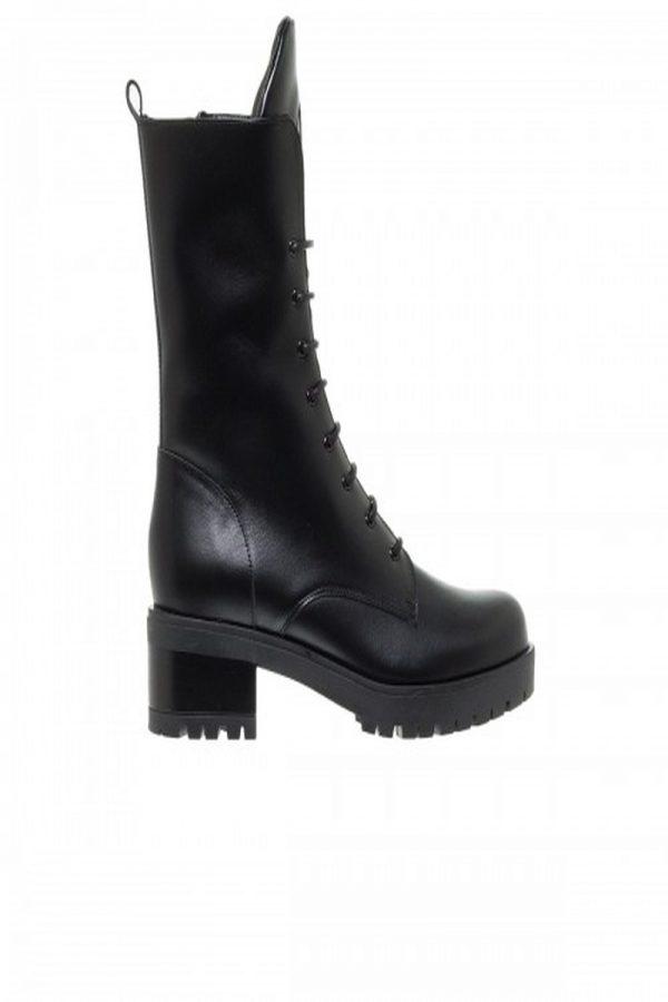 Μπότες - Μποτάκια MOURTZI HIGH BIKER BOOTIES