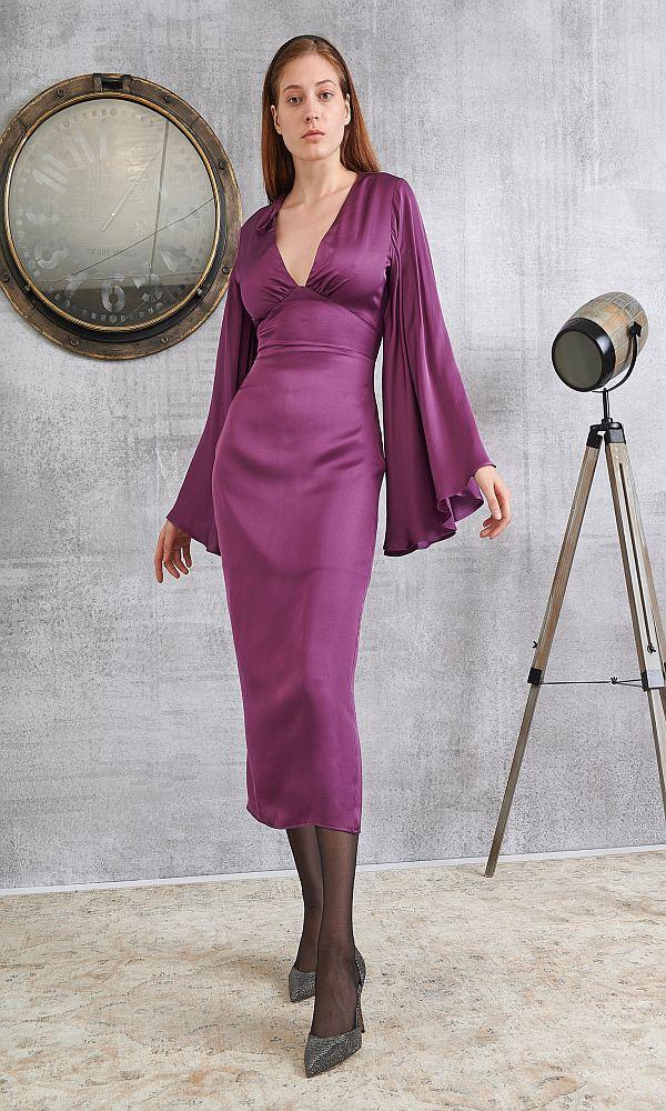 Γυναικεία Ρούχα LACE PURPLE DRESS
