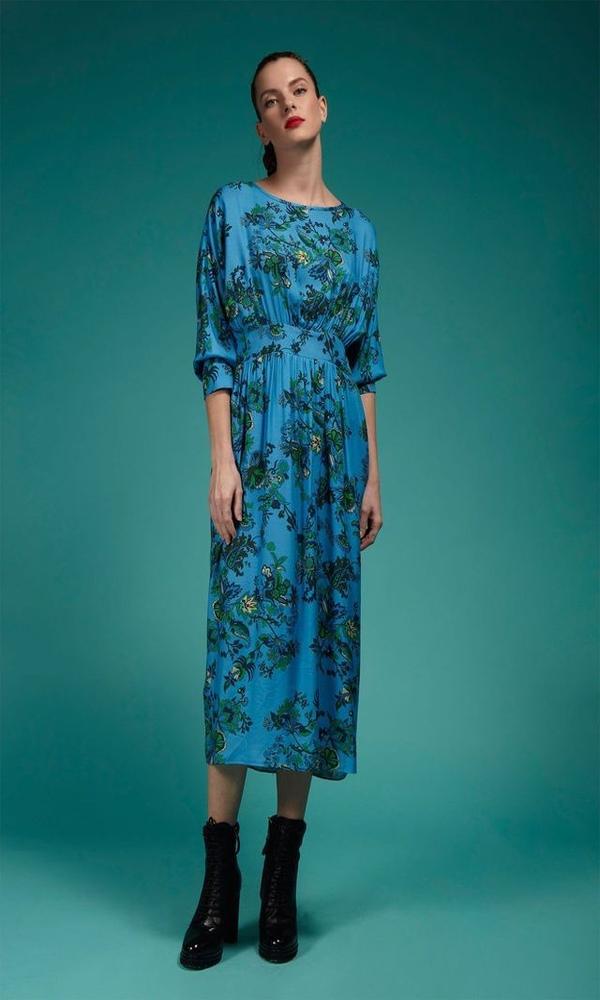 Γυναικεία Ρούχα CRISTINA BEAUTIFUL LIFE POET DRESS
