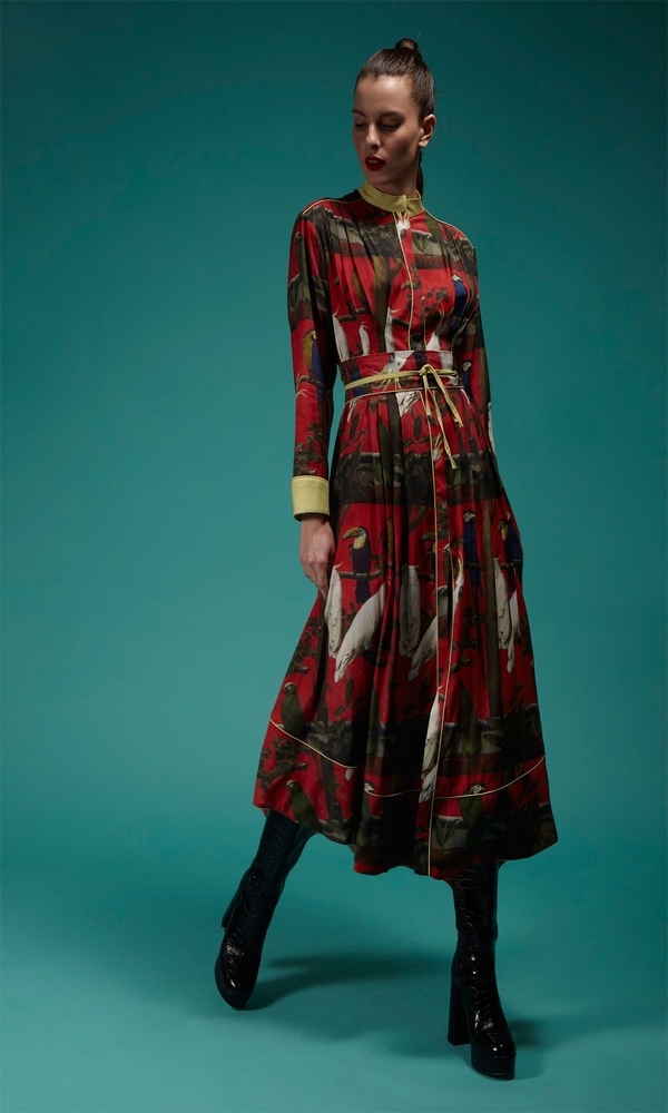 Γυναικεία Ρούχα CRISTINA BEAUTIFUL LIFE MISHA RED DRESS