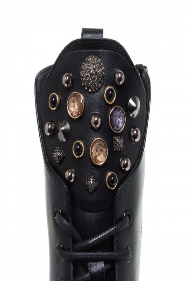 Μπότες - Μποτάκια MOURTZI BLACK DIAMOND BIKER BOOTIES